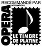 Opéra International - Timbre de Platine