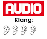 Audio - Klang: 4/5 Ohren