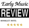 Early Music Review - Booklet 5/5 Sterne