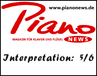 Piano News - Interpretationswert: 5/6