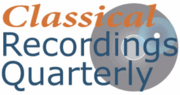 Classical Recordings Quarterly