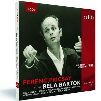 21407 - Ferenc Fricsay conducts Béla Bartok – The early RIAS recordings