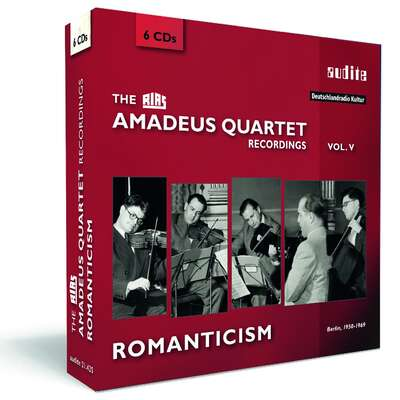 21425 - The RIAS Amadeus Quartet Recordings - Romanticism