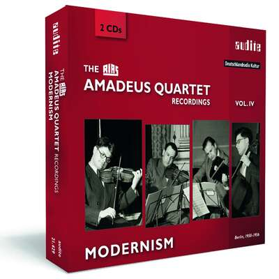 21429 - The RIAS Amadeus Quartet Recordings - Modernism