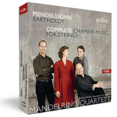21436 - Felix Mendelssohn Bartholdy: Complete Chamber Music for Strings