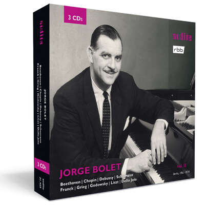 21459 - Jorge Bolet: The Berlin Radio Recordings, Vol. III