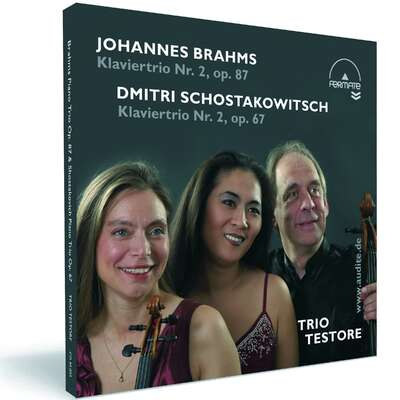40003 - Piano Trios by Brahms (Op. 87) & Schostakowitsch (Op. 67)