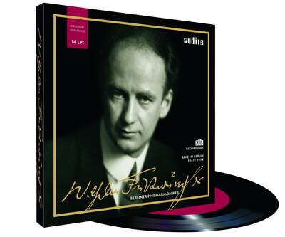 87101 - Edition Wilhelm Furtwängler – RIAS recordings with the Berlin Philharmonic on 14 LPs