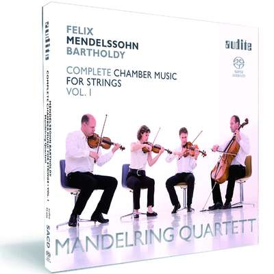 92656 - Felix Mendelssohn Bartholdy: String Quartets in E flat major (Op. 12), in A minor (Op. 13) & in E flat major (1823)