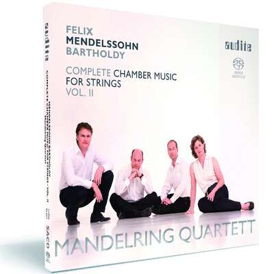 92657 - Felix Mendelssohn Bartholdy: String Quartets in D major (Op. 44 No. 1), in E minor (Op. 44 No. 2) & in F minor (Op. 80)