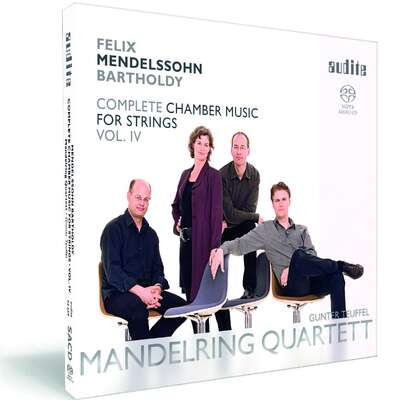 92659 - Felix Mendelssohn Bartholdy: String Quintets in A major (Op. 18 No. 1) & in B flat major (Op. 87 No. 2) & Four Pieces for String Quartet (Op. 81)
