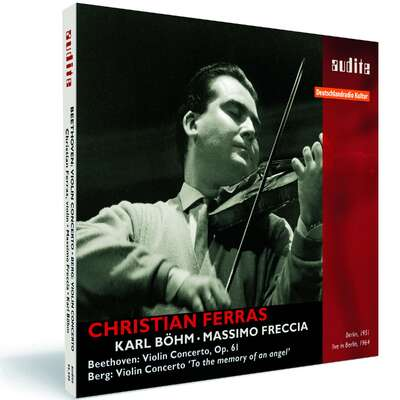 95590 - Christian Ferras plays Beethoven and Berg Violin Concertos