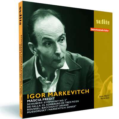 95631 - Igor Markevitch conducts Schubert, de Falla, Mussorgsky and Roussel