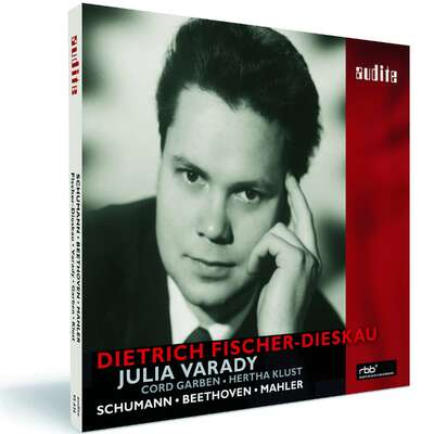95636 - Dietrich Fischer-Dieskau sings Beethoven and Mahler and Schumann duos with Julia Varady