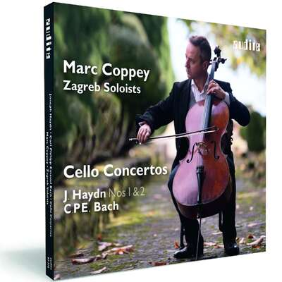 97716 - Marc Coppey & The Zagreb Soloists: Cello Concertos by J. Haydn and C. P. E. Bach