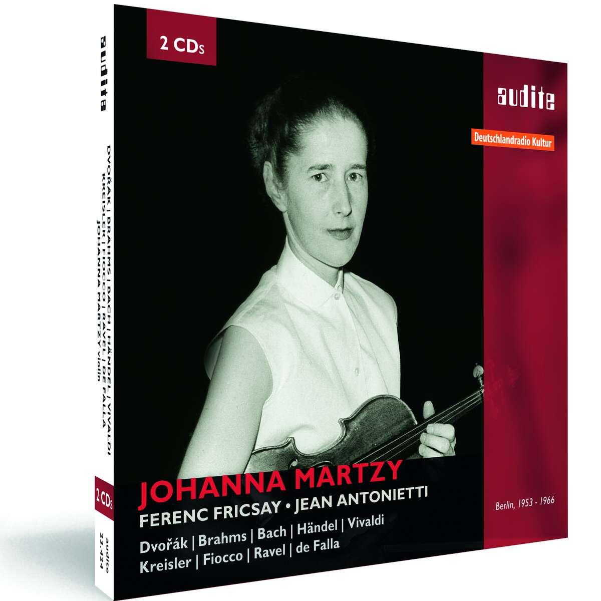 audite! - Portrait Johanna Martzy - Violin Concerto, Violin Sonatas ...