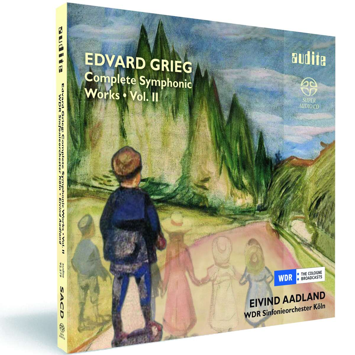 Grieg Complete Symphonic Works Vol Ii Aadlandwdr So