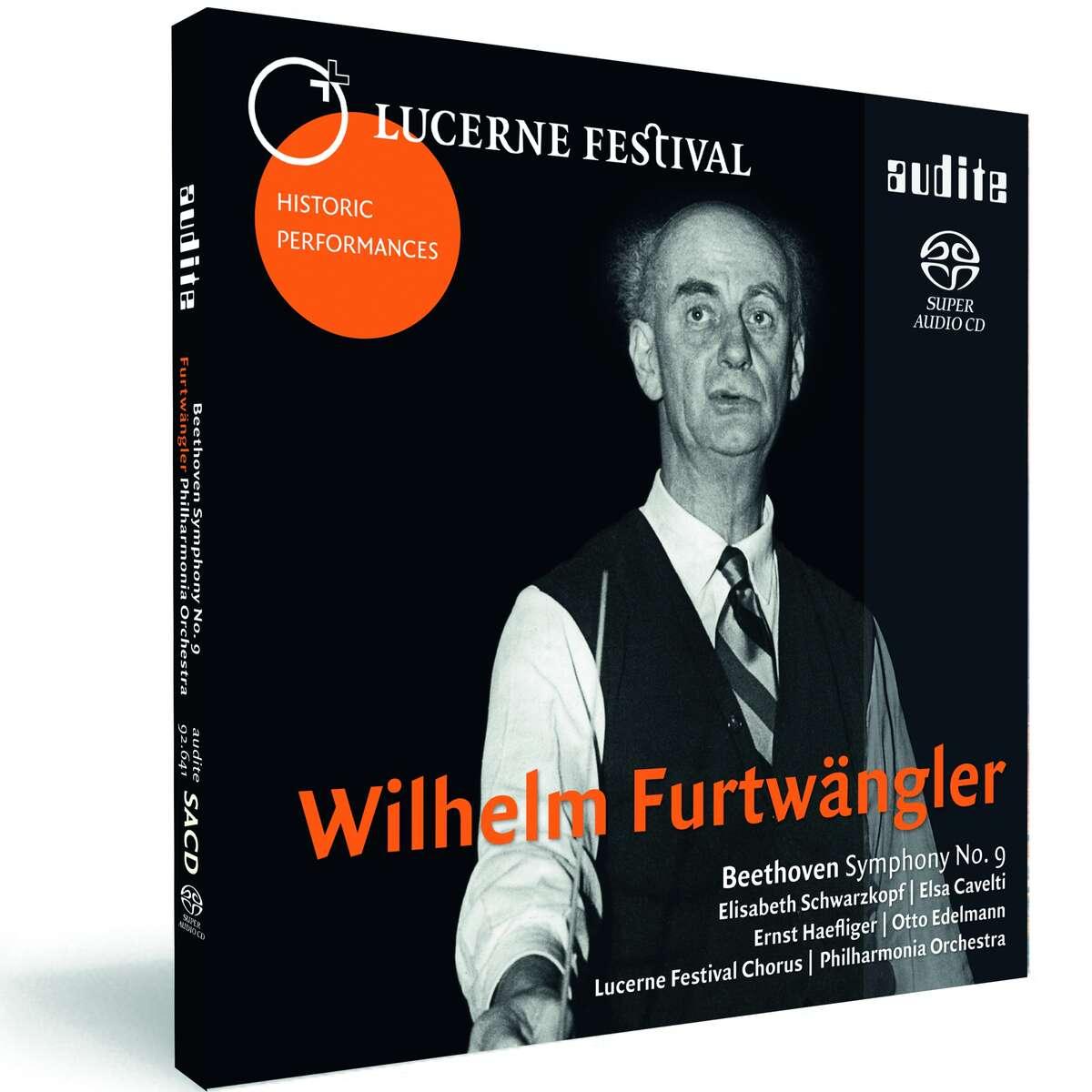 Furtwängler conducts Beethoven's Symphony 9_Lucerne    - audite