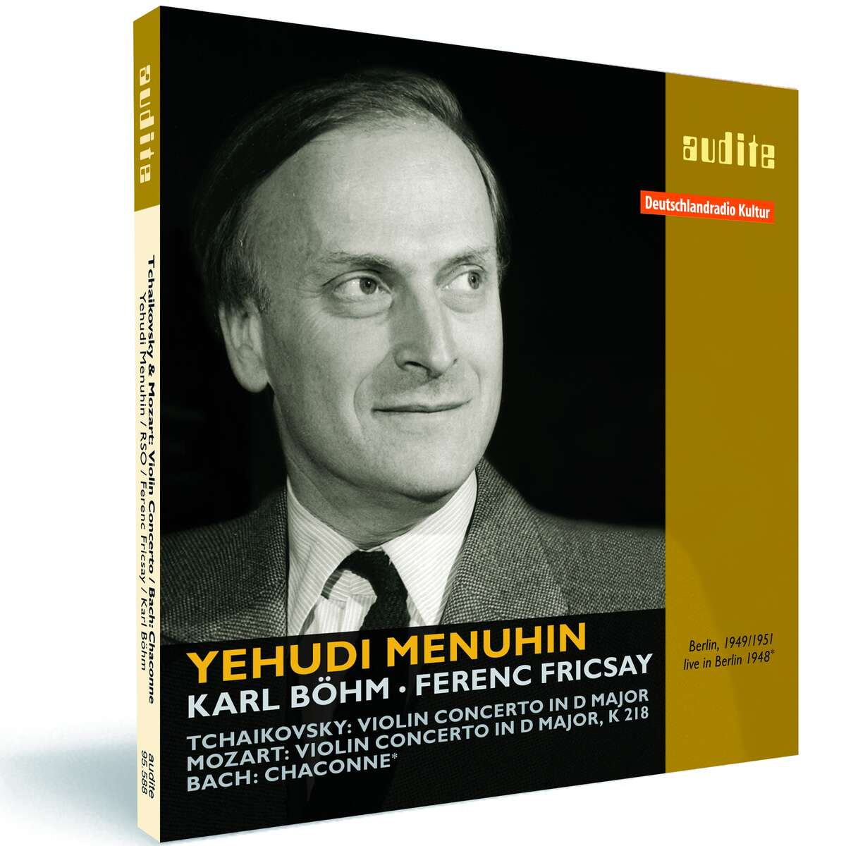 audite! - Yehudi Menuhin plays Tchaikovsky: Violin Concerto, Mozart ...