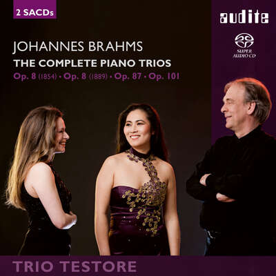 91668 - Johannes Brahms: The Complete Piano Trios