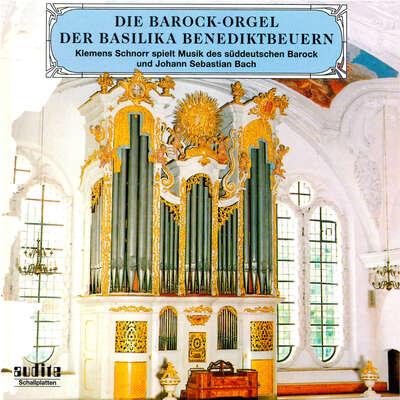 95441 - The Baroque Organ at the Basilica in Benediktbeuern