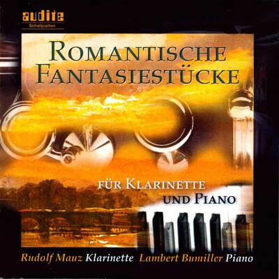 95452 - Romantic Fantasies for Clarinet and Piano