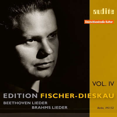95601 - Edition Fischer-Dieskau (IV) – Lieder by Beethoven and Brahms