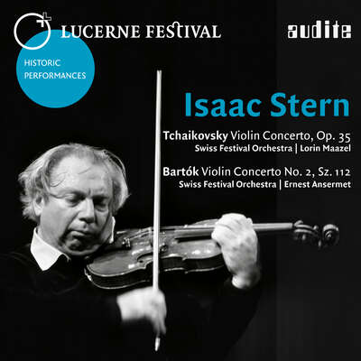 95624 - Isaac Stern plays Tchaikovsky: Violin Concerto, Op. 35 and Bartók: Violin Concerto No. 2, Sz. 112