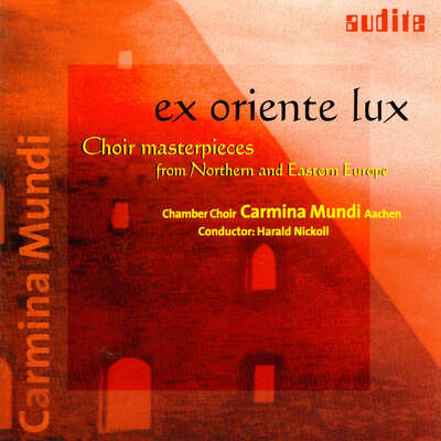 97475 - Ex Oriente Lux - Choir masterpieces