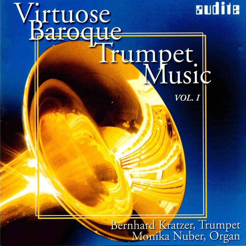 Cover: Virtuose Baroque Trumpet Music Vol. I