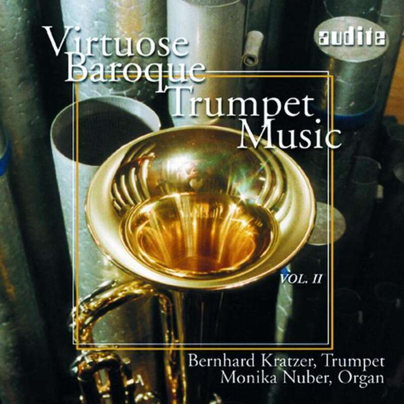 Cover: Virtuose Baroque Trumpet Music Vol. II