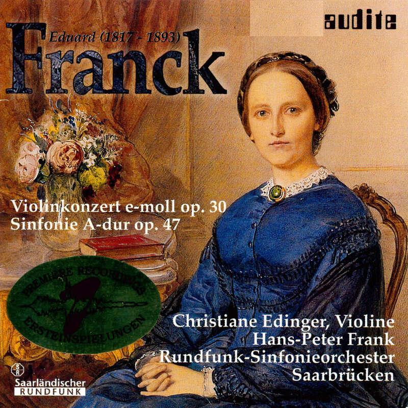 Cover: Eduard Franck: Orchestral Works I