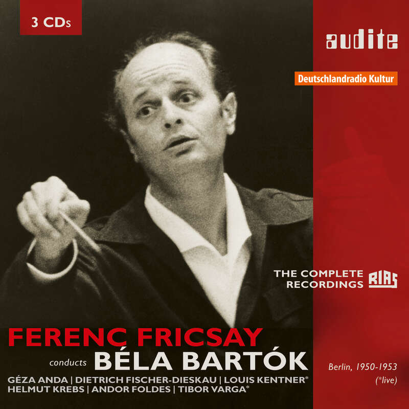 Cover: Ferenc Fricsay conducts Béla Bartok – The early RIAS recordings