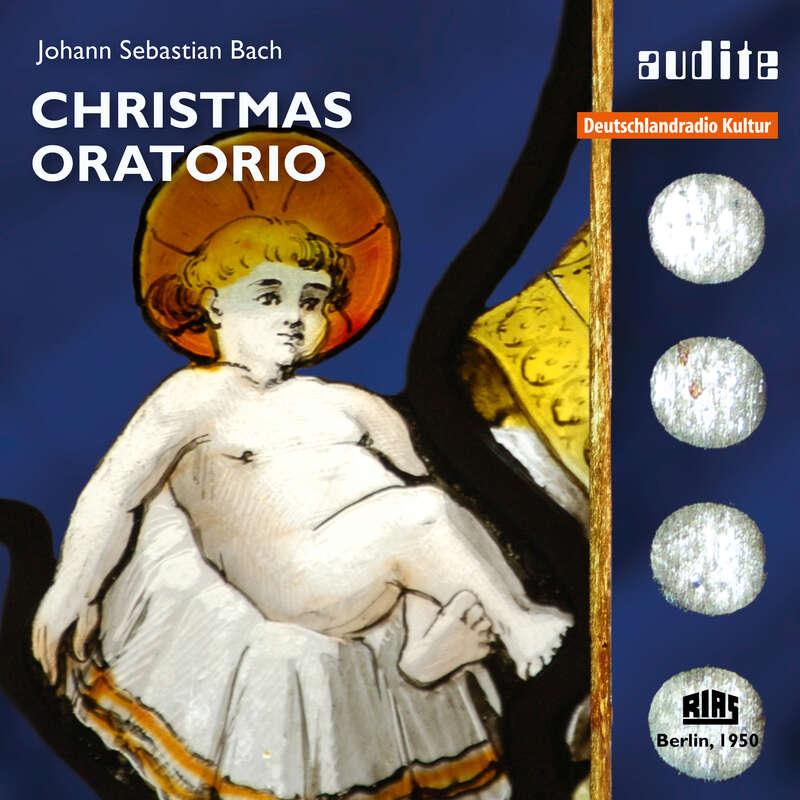 Cover: Johann Sebastian Bach: Christmas Oratorio