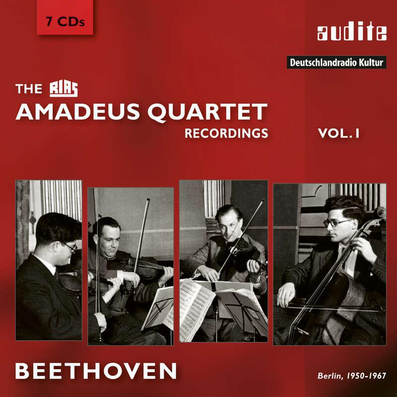 Cover: The RIAS Amadeus Quartet Beethoven Recordings