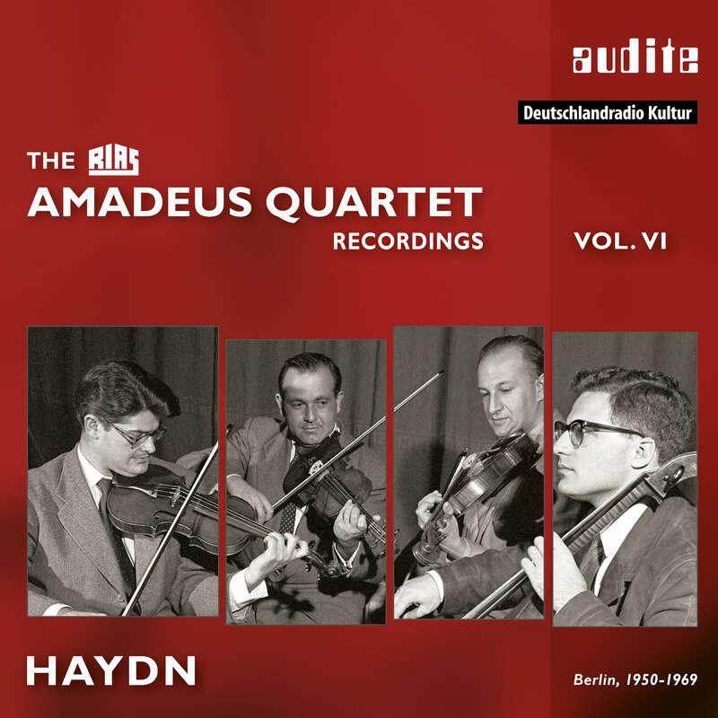 Cover: The RIAS Amadeus Quartet Haydn Recordings