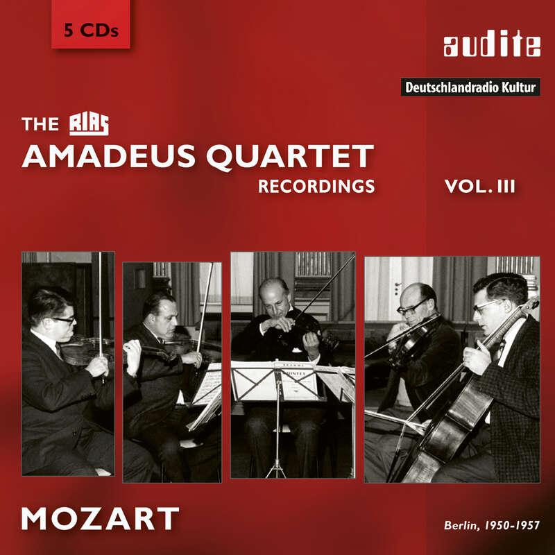 Cover: The RIAS Amadeus Quartet Mozart Recordings