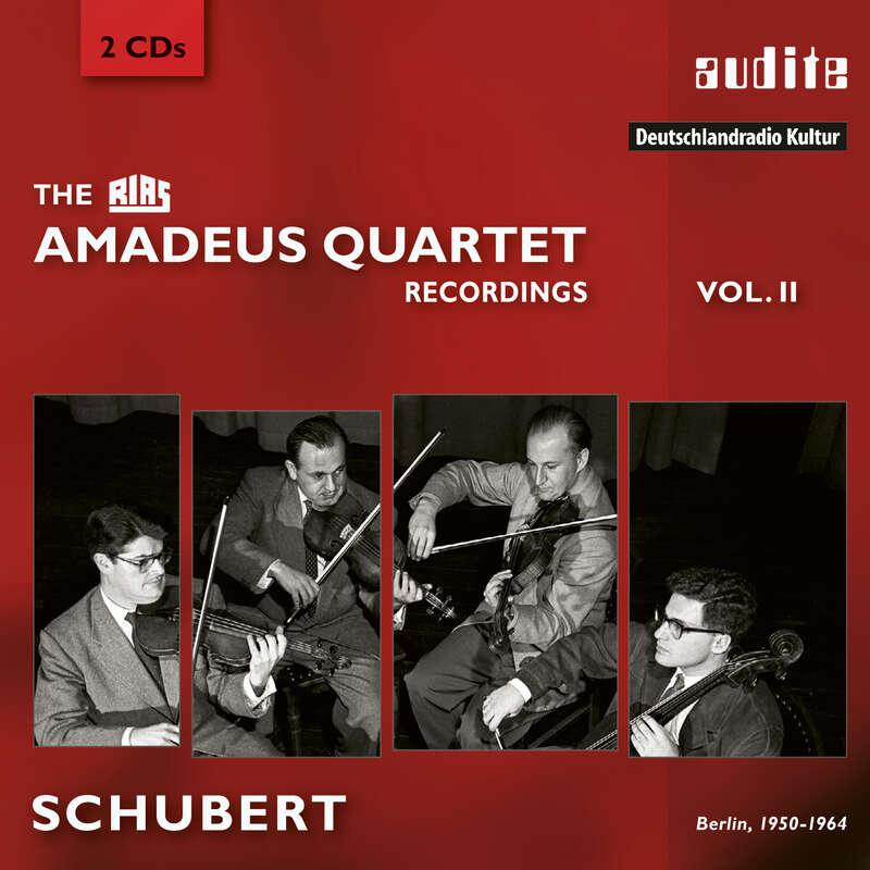Cover: The RIAS Amadeus Quartet Schubert Recordings