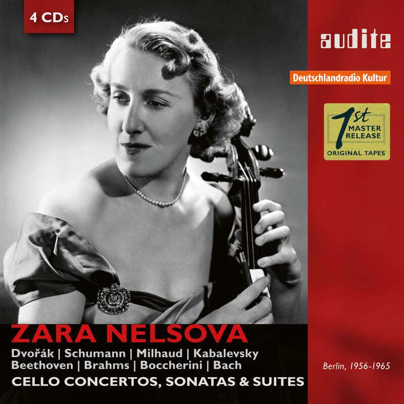 Cover: Portrait Zara Nelsova