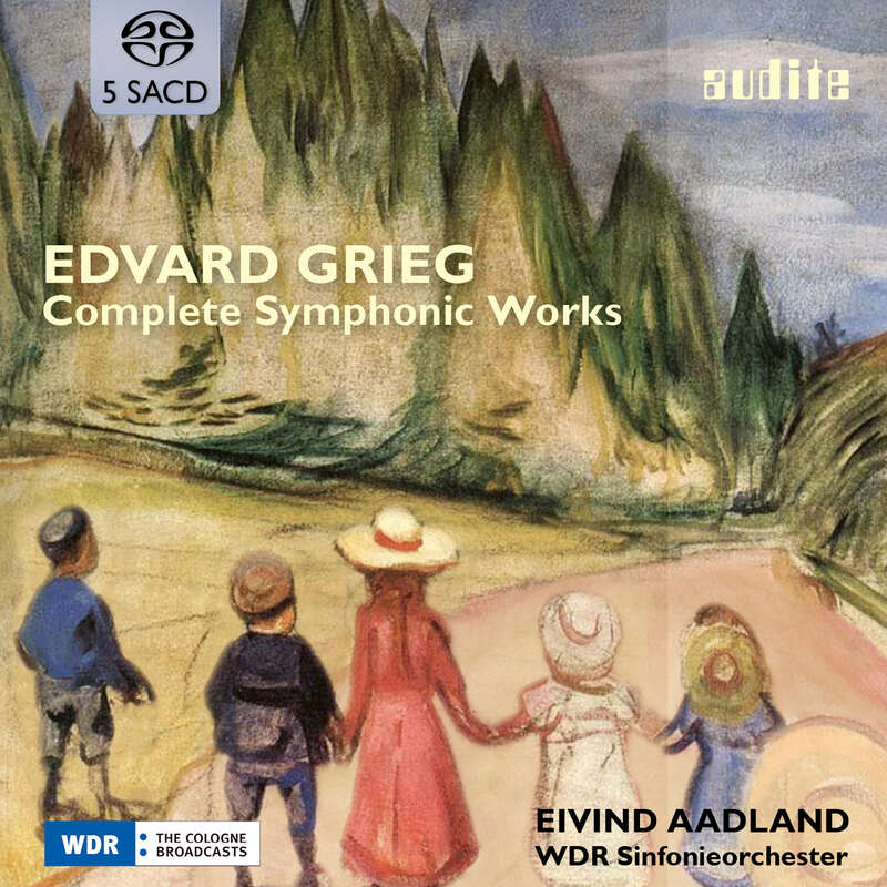 Cover: Edvard Grieg: Complete Symphonic Works