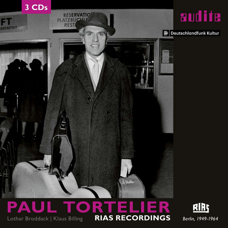 Cover: Paul Tortelier: RIAS Recordings