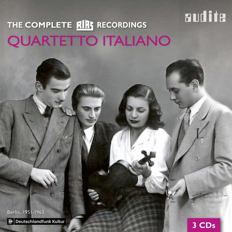 Cover: Quartetto Italiano - The complete RIAS Recordings