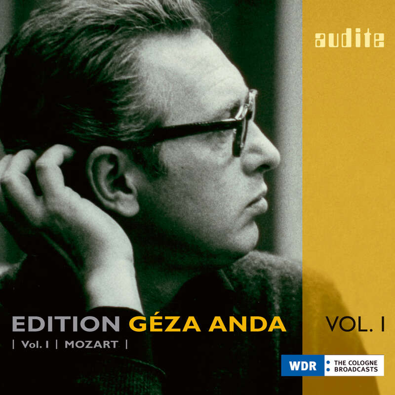 Cover: Edition Géza Anda (I) – Mozart