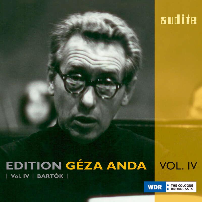 Cover: Edition Géza Anda (IV) – Bartók