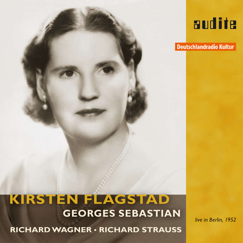Cover: Kirsten Flagstad sings Wagner & Strauss