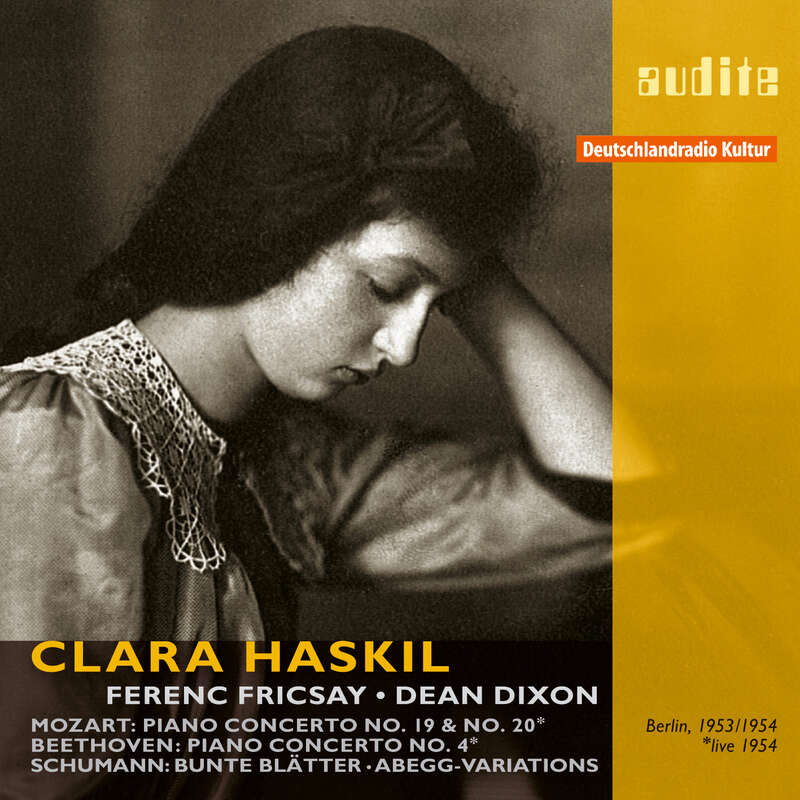 Cover: Clara Haskil plays Mozart, Beethoven and Schumann
