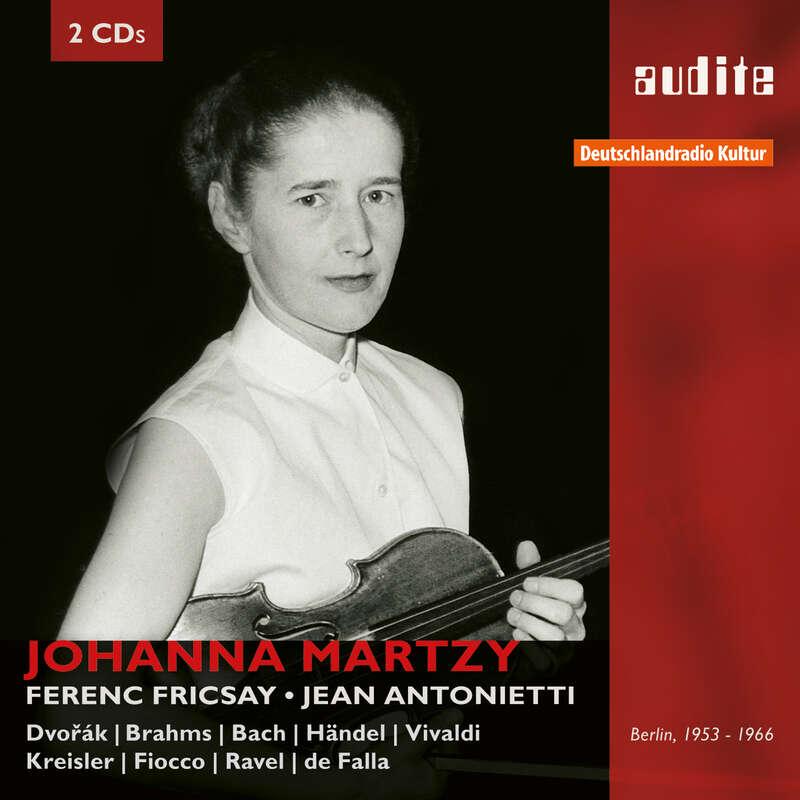 Cover: Portrait Johanna Martzy