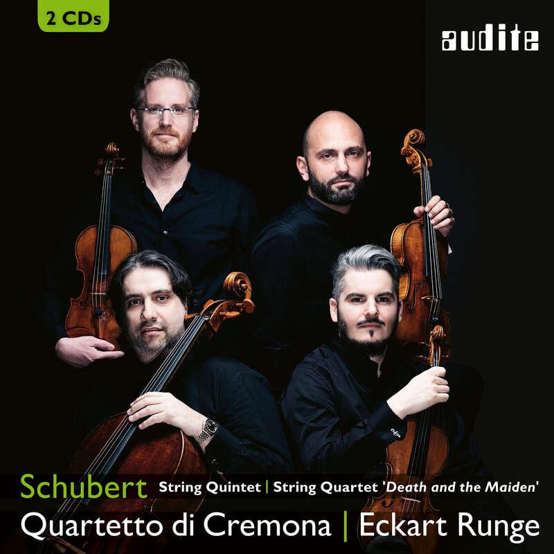 Cover: Franz Schubert: String Quintet & String Quartet 'Death and the Maiden'