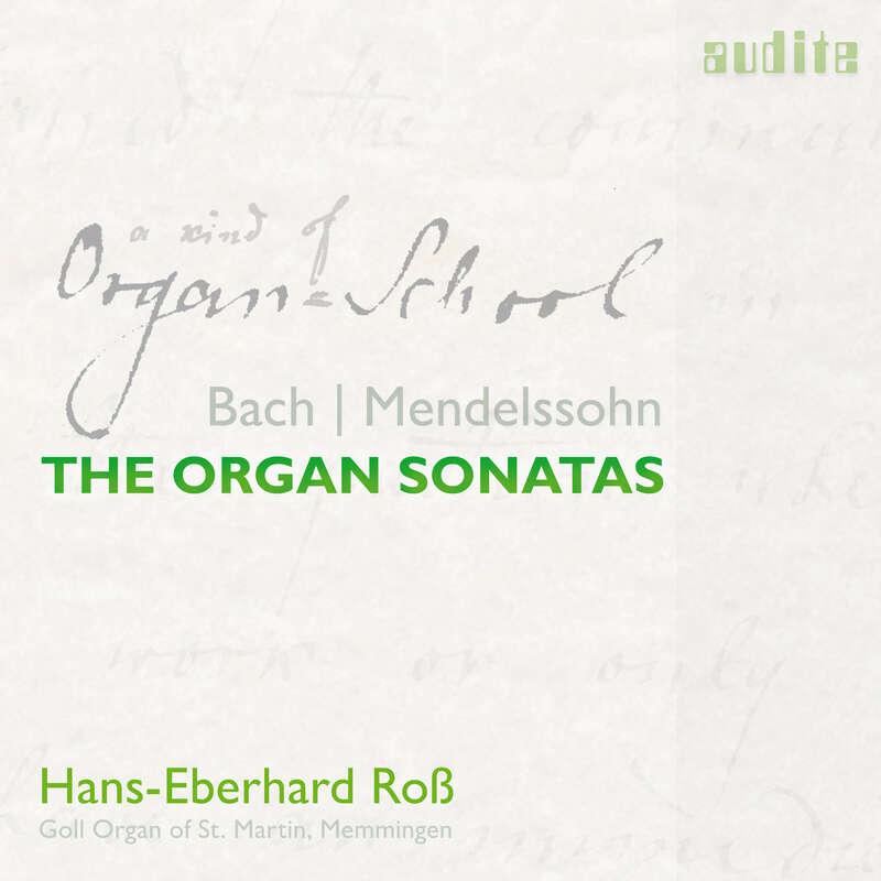 Cover: Bach & Mendelssohn: The Organ Sonatas