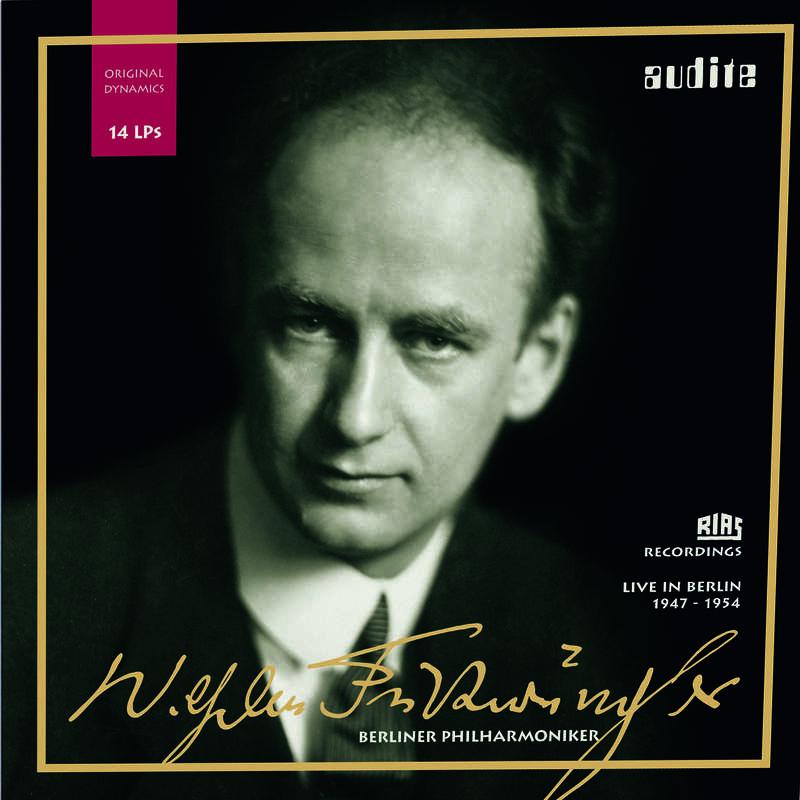 Cover: Edition Wilhelm Furtwängler – RIAS recordings with the Berlin Philharmonic on 14 LPs